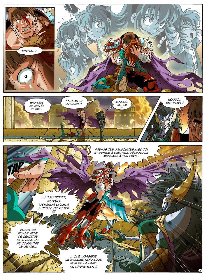 Page 3 : Les Légendaires Tome 12 : Renaissance (couverture)