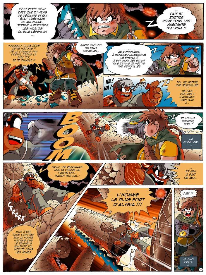 Page 4 : Les Légendaires Tome 12 : Renaissance (couverture)