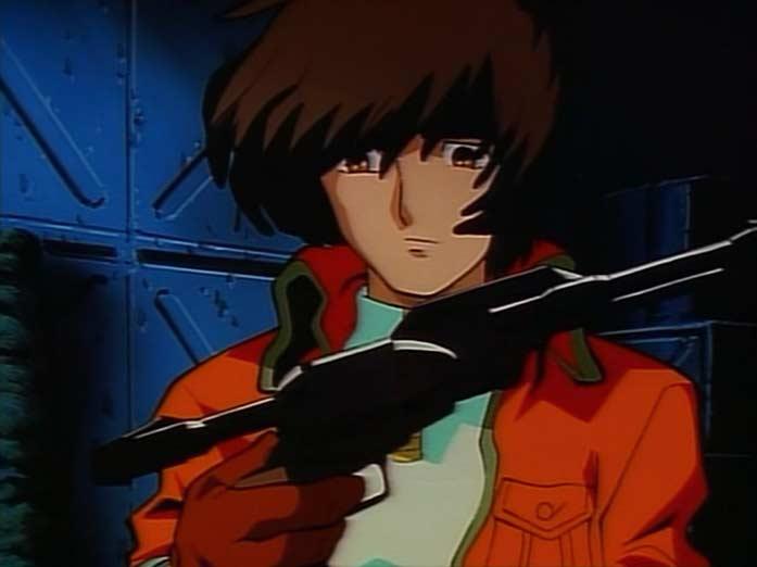 Toshiro offre à Tadashi le Cosmo Dragoon qu'utilisait son père le Professeur Daiba