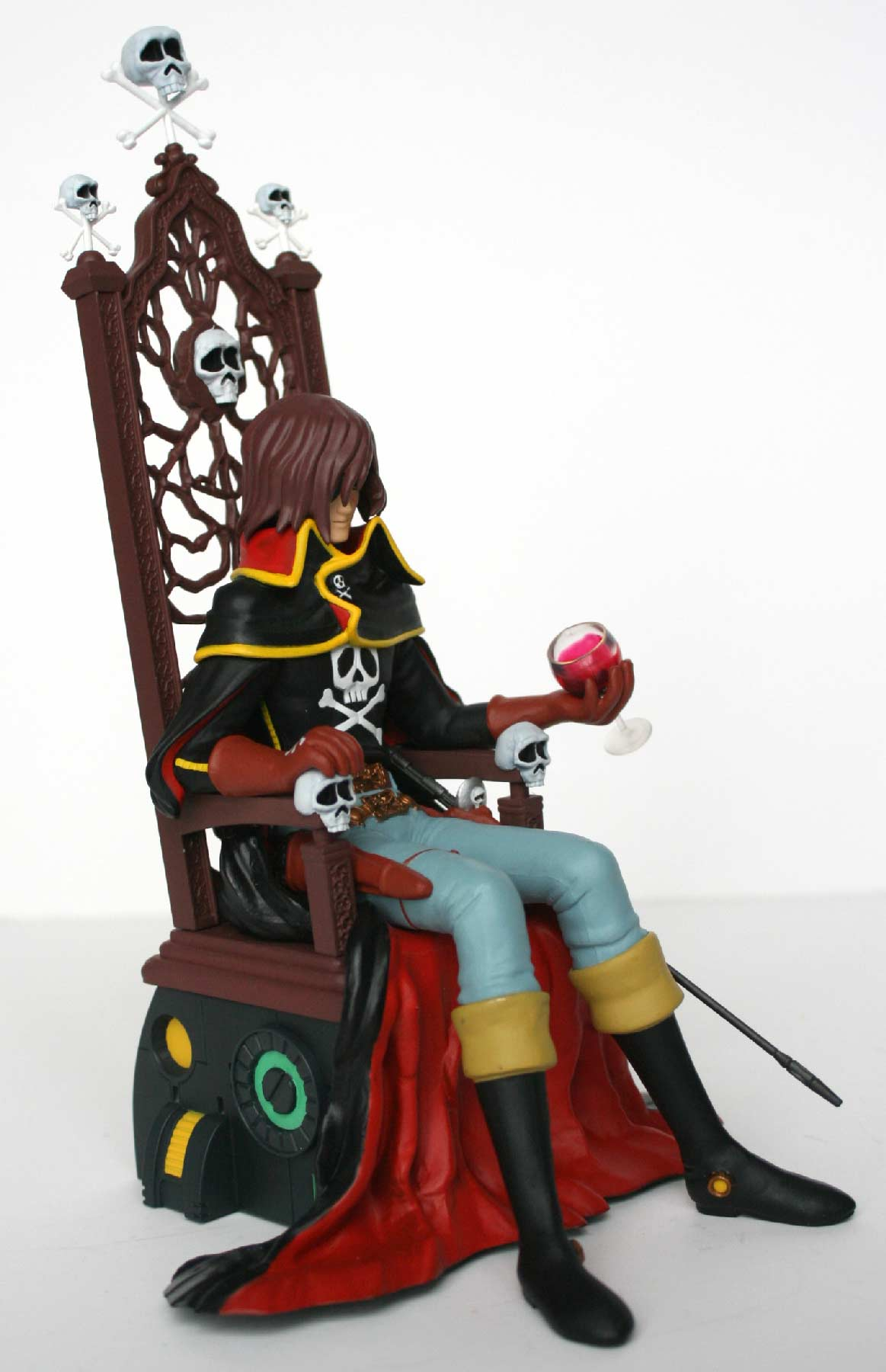 Albator sur son trône (High Dream) - Harlock