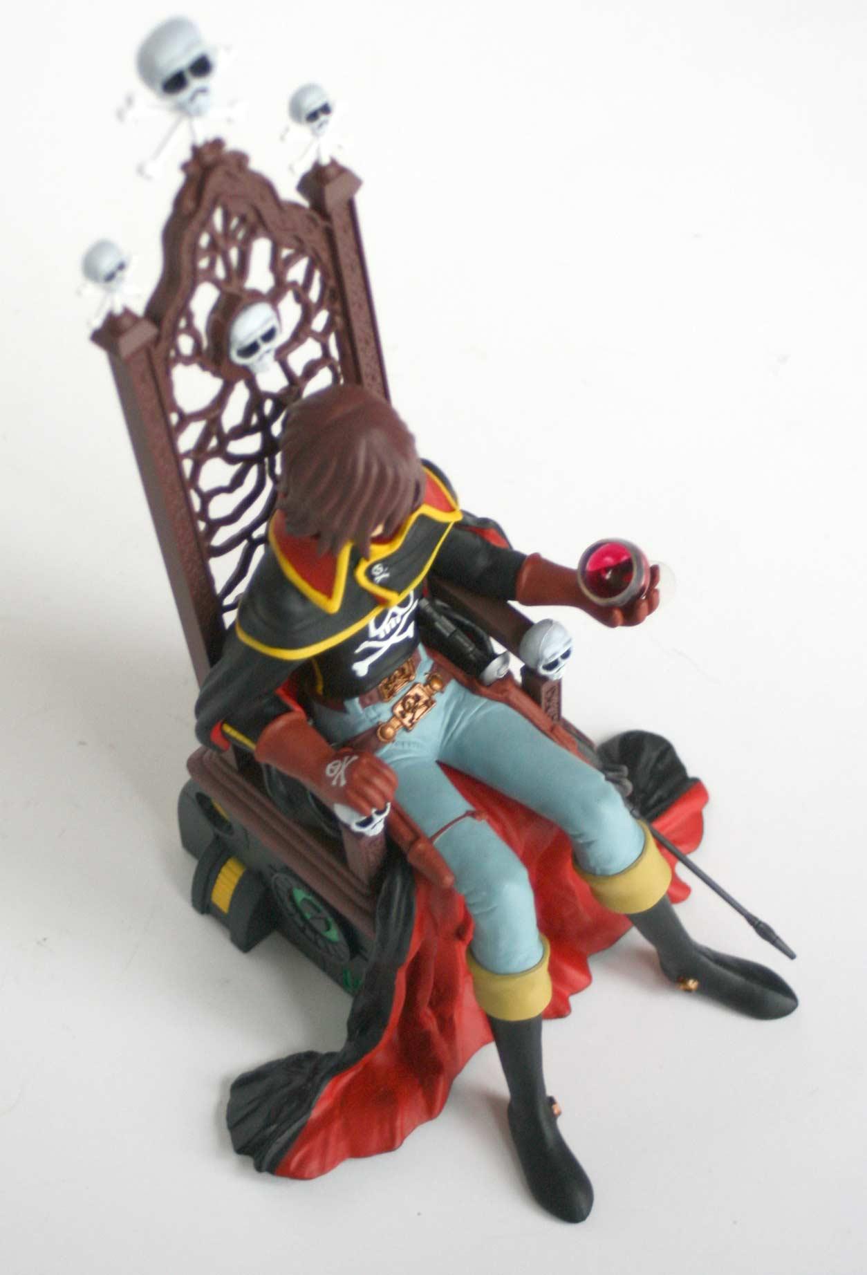 Albator sur son trône (High Dream) - Harlock