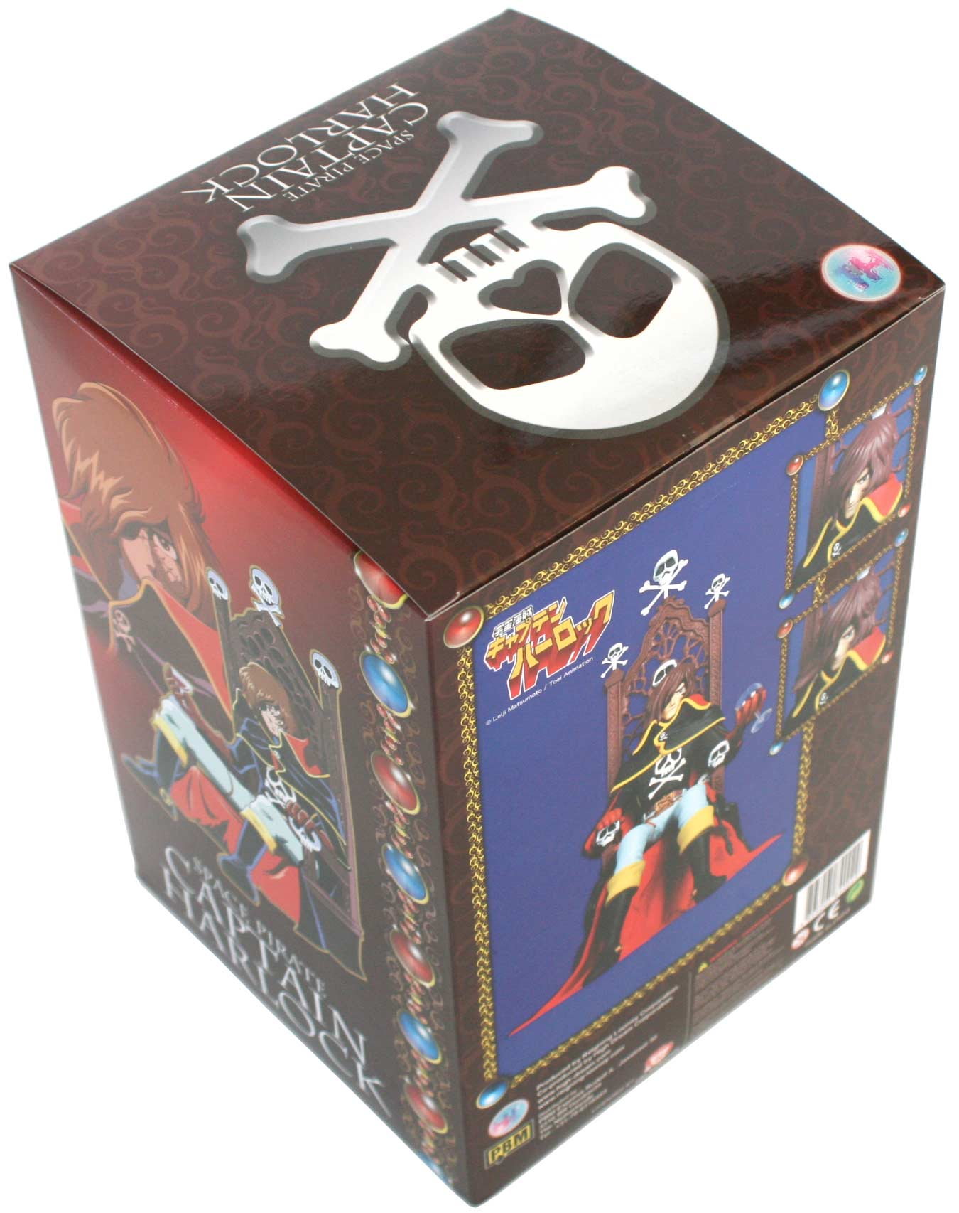 Packaging Albator sur son trône (High Dream) - Harlock