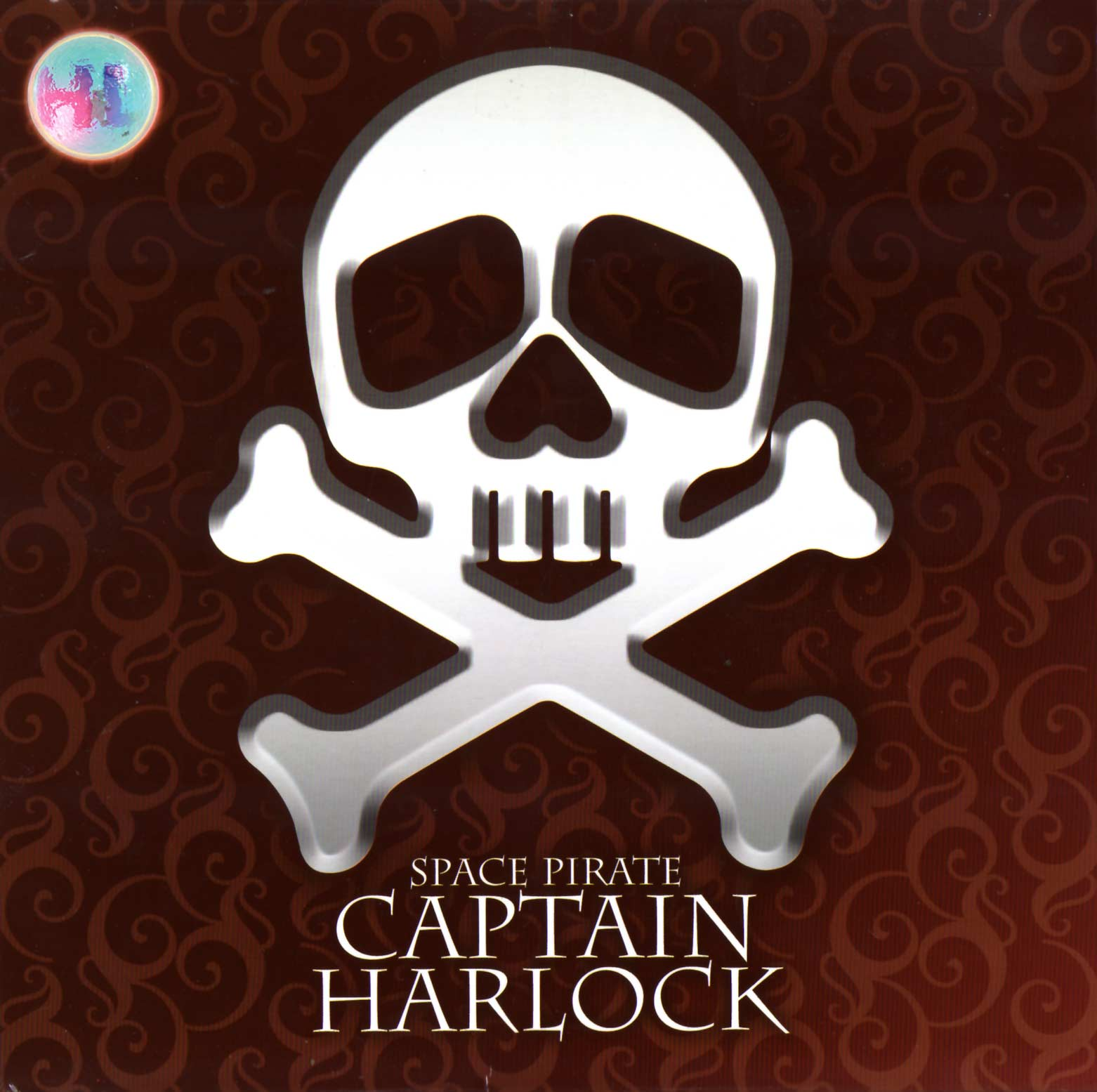 Packaging dessus - Albator sur son trône (High Dream) - Harlock