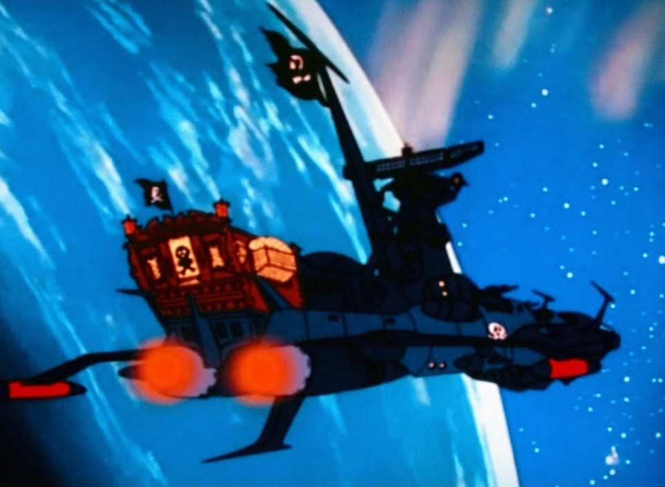 L'Atlantis dans Albator 78 (Albator le Corsaire de l'Espace)