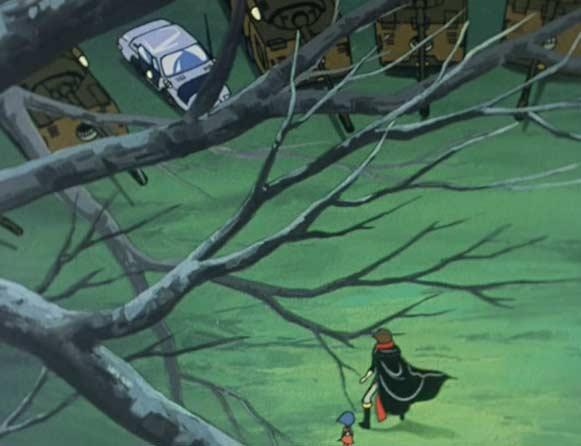Albator est arrêté par l'armée Terrienne
