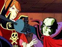 Emerladia est l'amie d'Albator et Alfred, Elle commande le Queen Emeraldas