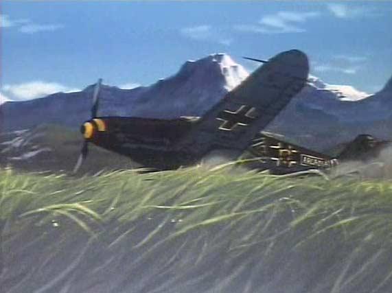Pendant la seconde Guerre mondiale, l'ancêtre d'Albator était pilote d'avion dans l'armée allemande