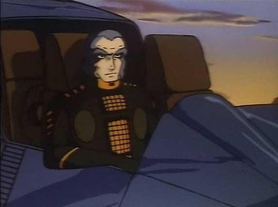 Le commandant Zeda est le seul Humanoïde qui a un peu de charisme dans cette série