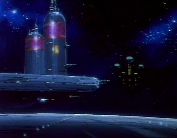 Avant l'arrivée des humanoïdes, les hommes avaient commencé à coloniser l'espace