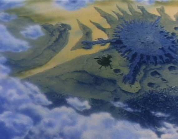 L'Atlantis s'éloigne du QG des humanoïdes