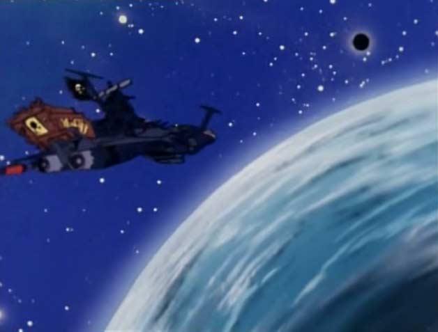 L'Atlantis tente de détruire la sphère noire