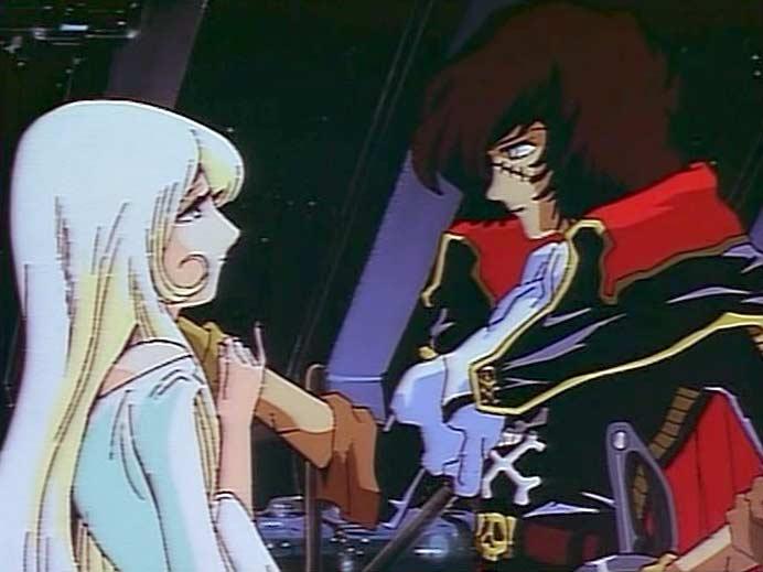 Miimé rejoint Harlock dans l'Arcadia pour pourchasser Alberich