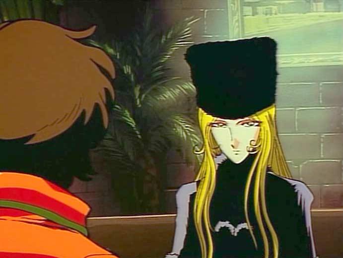 Maetel (la sœur d'Emeraldas) demande à Tadashi de ne pas forger l'anneau