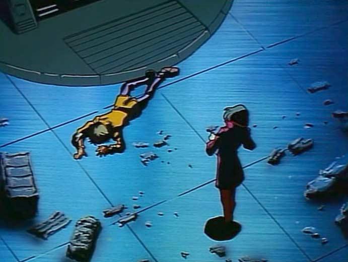 Au lieu de payer Tadashi, Alberich préfère l'abattre. Mais il ne sait pas que Tadashi a un gilet Pare-Balles