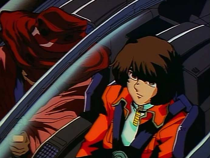 Toshirô accompagne Tadashi sur l'Arcadia