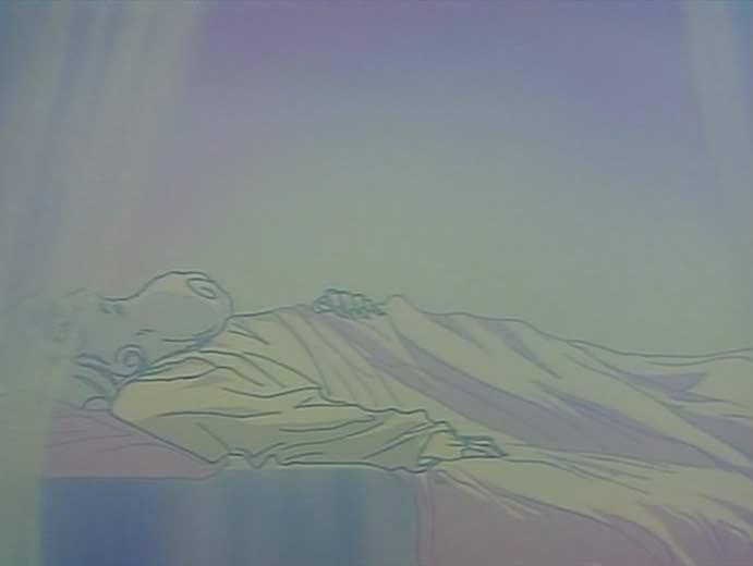 Wotan a ressenti la création de l'Anneau et se réveille de son sommeil pour affronter Alberich
