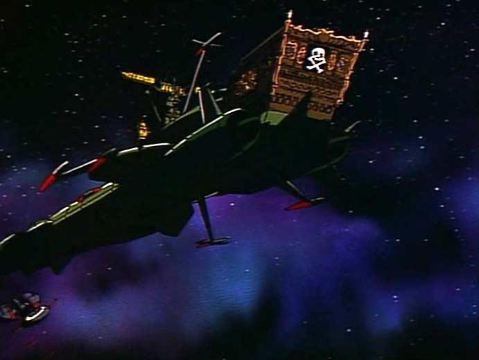Toshiro ramène Tadashi sur l'Arcadia