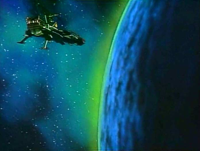 Le vaisseau ennemi s'est posé sur une mystérieuse planète