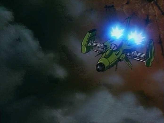 En sortant du cratère, Toshirô découvre qu'il y a une seconde planète à l'intérieur de la première