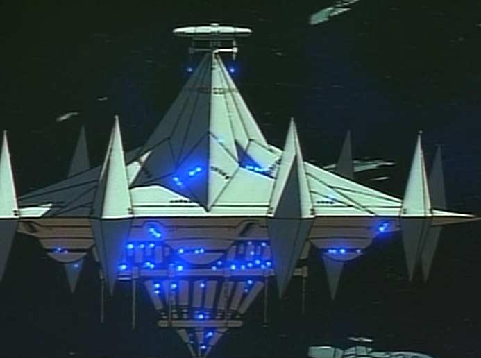 Le vaisseau mère de la flotte d'Alberich