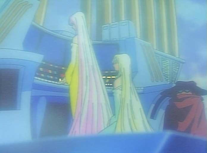 Mimé retrouve Toshirô et Freija