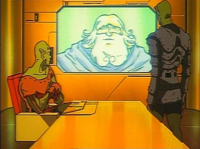 Wotan ordonne aux géants d'abattre l'Arcadia