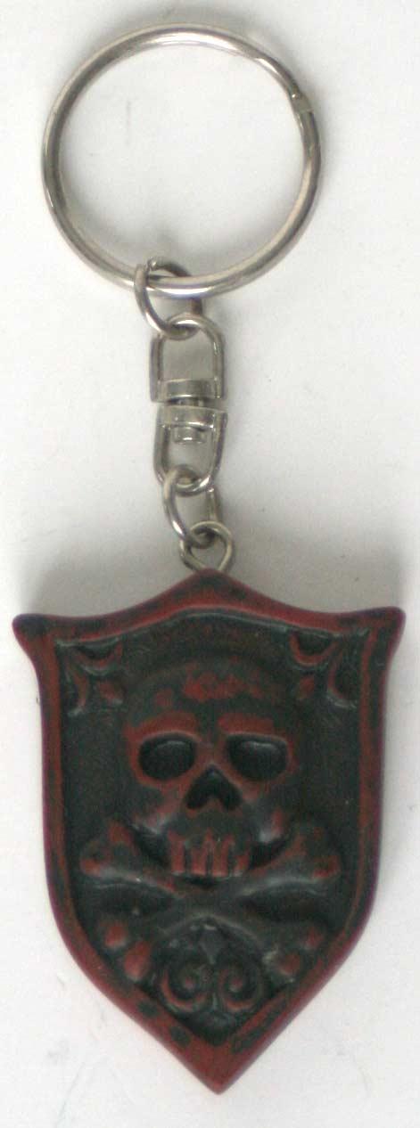 Porte clés face