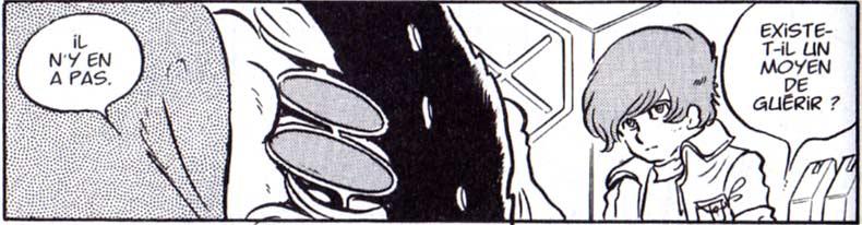 La maladie mortelle de Toshirô est évoquée sans être développée.