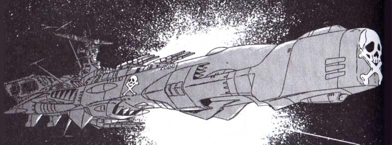 L'Arcadia du capitaine Harlock