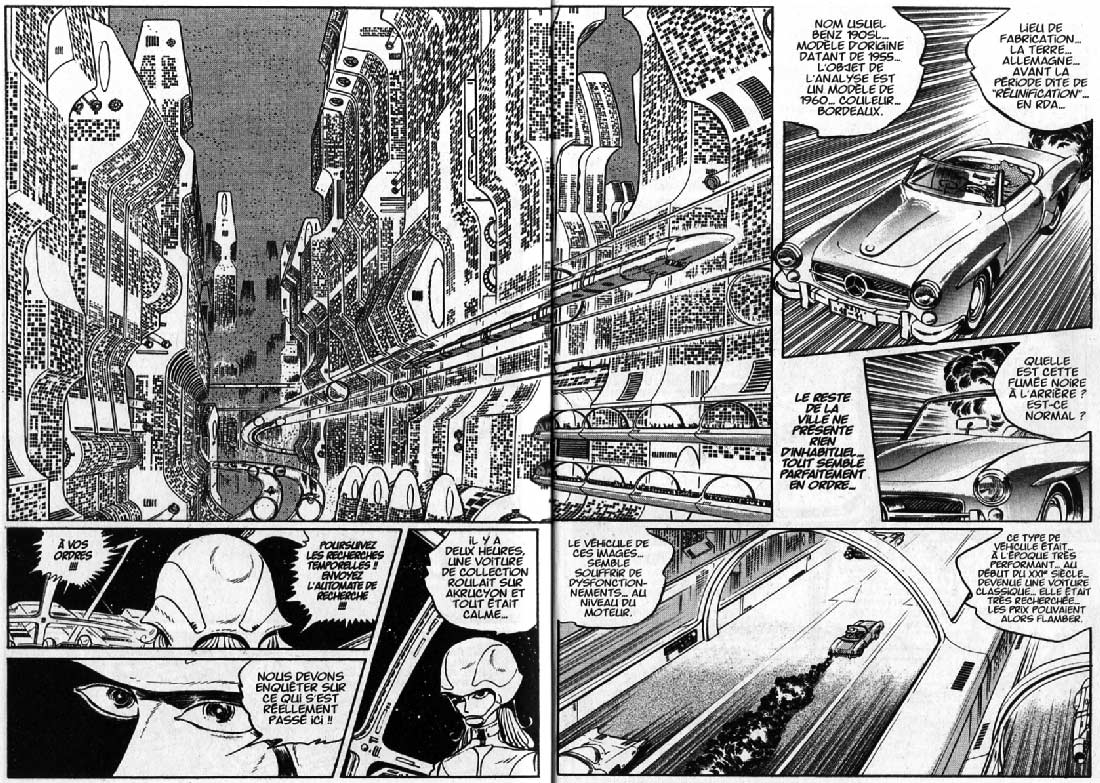 Page 6 et 7 du Tome 1 : L'Or du Rhin (l'Anneau des Nibelungen)