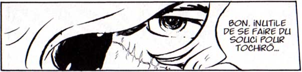 Alors que tout porte à croire que Toshirô est en danger, Albator reste serein sans que rien vienne expliquer cette assurance.