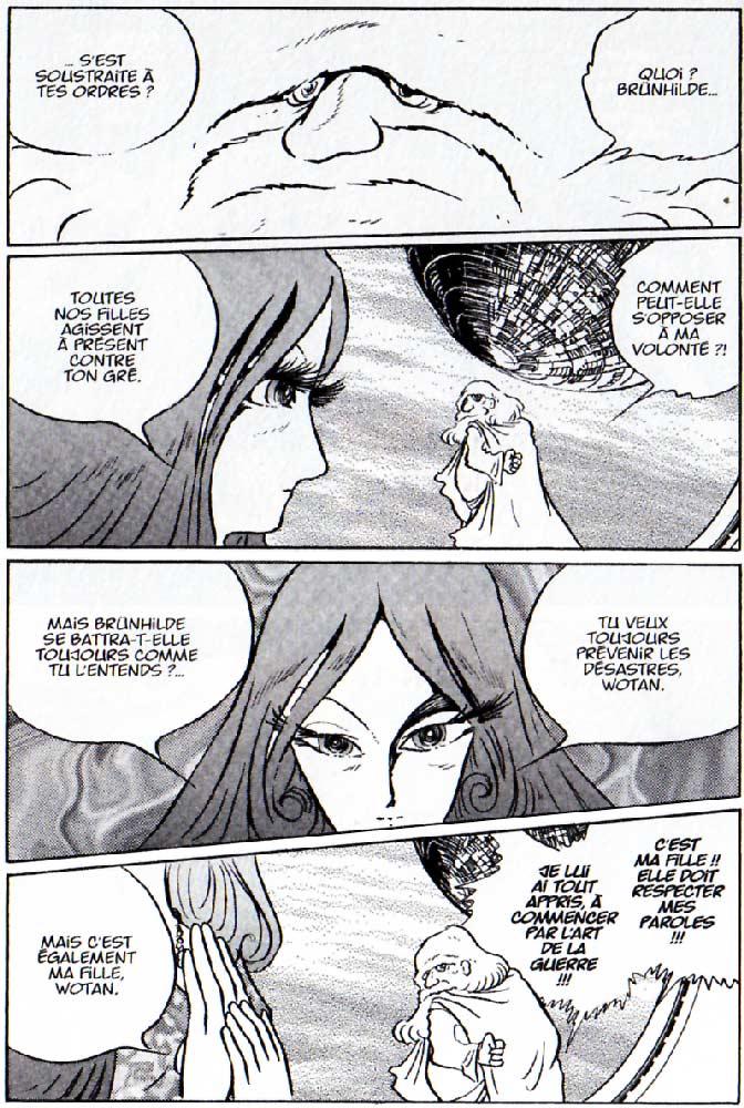 Page 1 du Tome 4 : La Walkyrie (l'Anneau des Nibelungen)