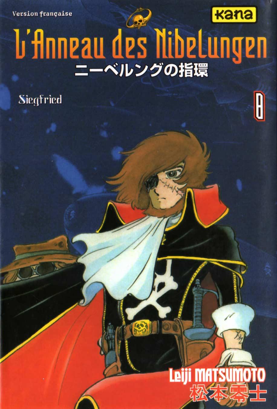 Couverture du Tome 8 : Siegfried (l'Anneau des Nibelungen)