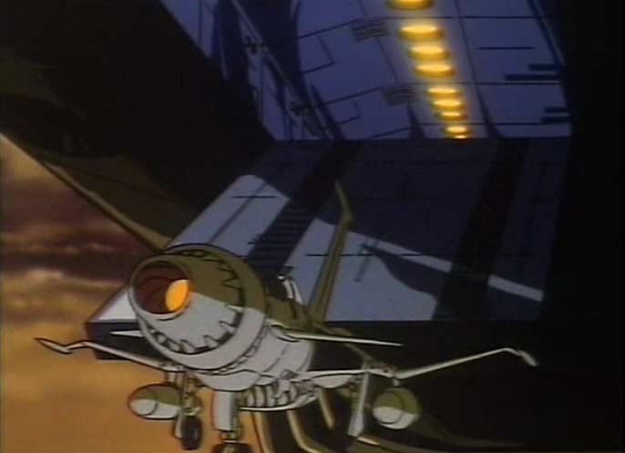 Plutôt que de jeter un des 10 chasseurs pour alléger le vaisseau, les 6 Tokargiens préfèrent se suicider en se jetant dans le vide. C'est pas franchement crédible comme prétexte...