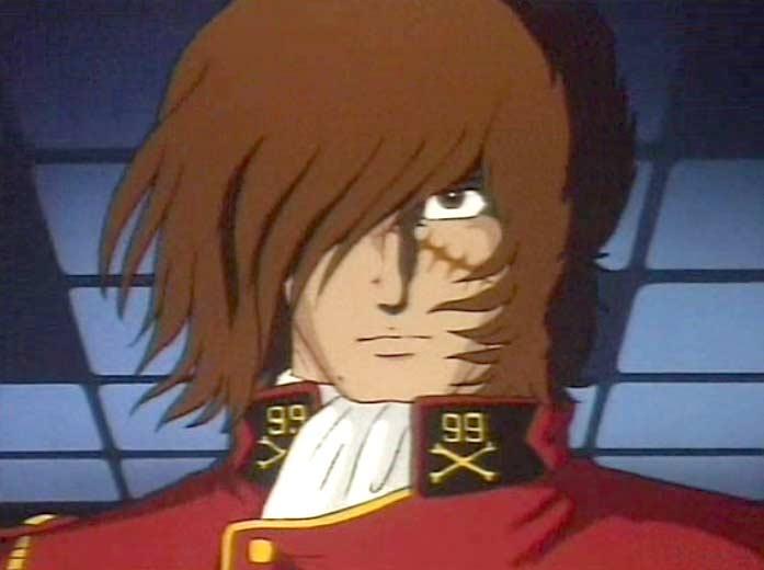 Au début du film, Albator fait partie de l'armée terrienne