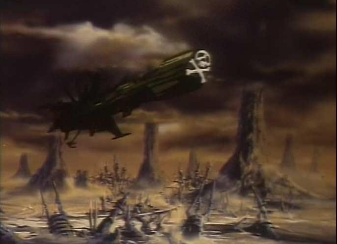 La planète Tokarga a été ravagé par les humanoïdes