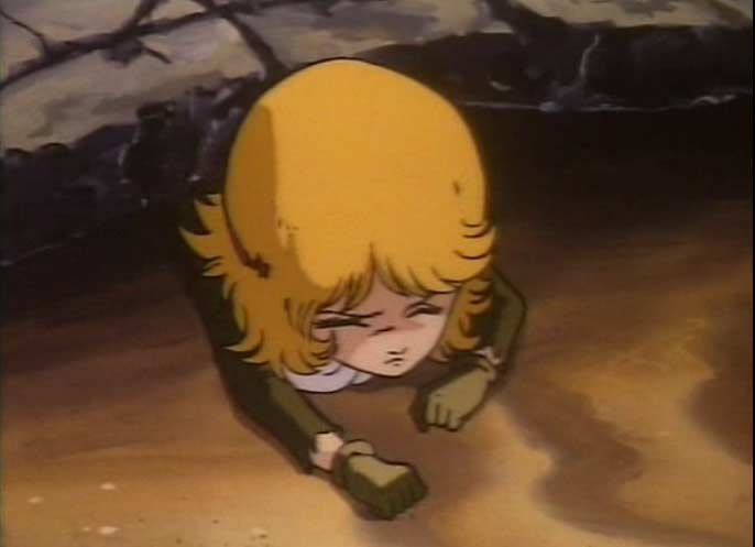 Mira la soeur de Zoll est trouvée dans les décombres