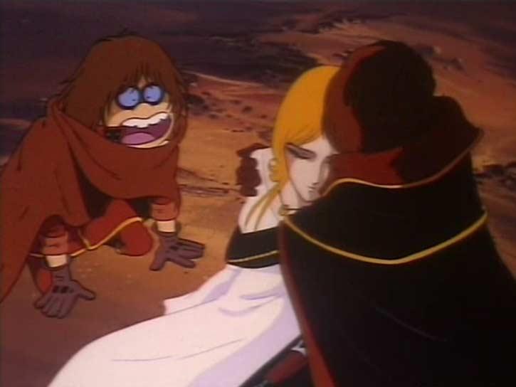 Maya meurt dans les bras d'Albator avant même qu'ils aient pu repartir