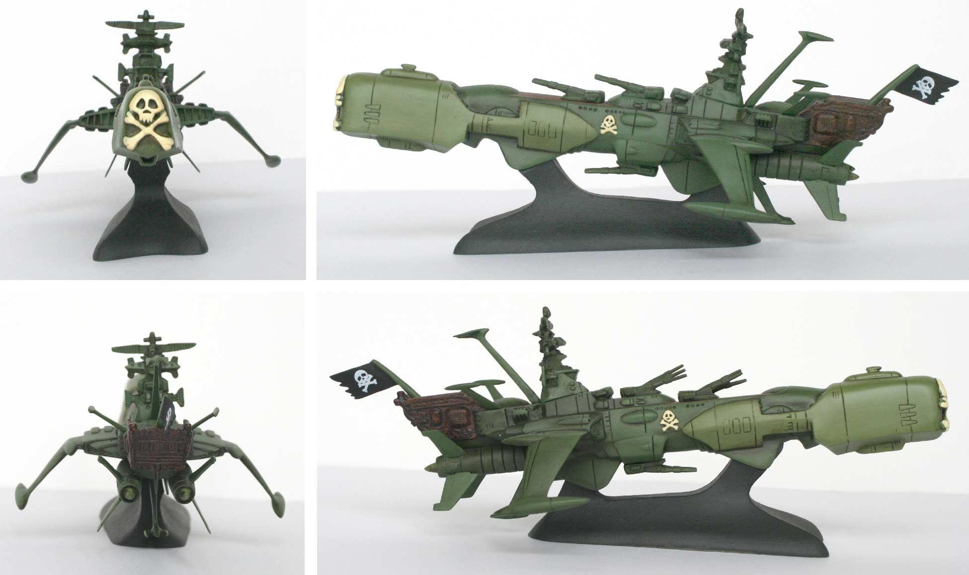 Mabell : Arcadia - Leiji's Space ship collection (jouet)