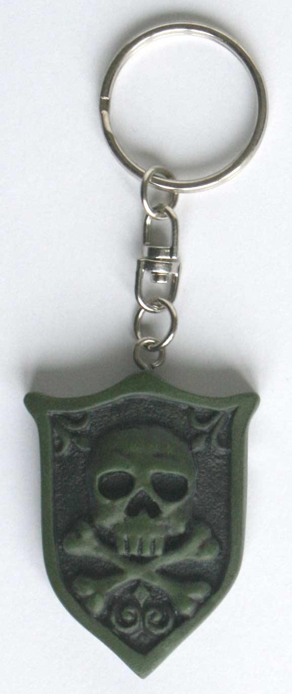 Le porte clé vient du même moule que celui du Queen Emeraldas