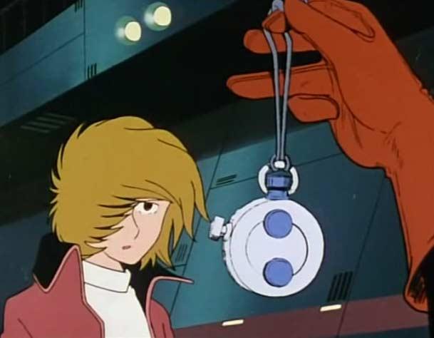 Nausica donne un émetteur à Ramis pour qu'il puisse contacter l'Atlantis
