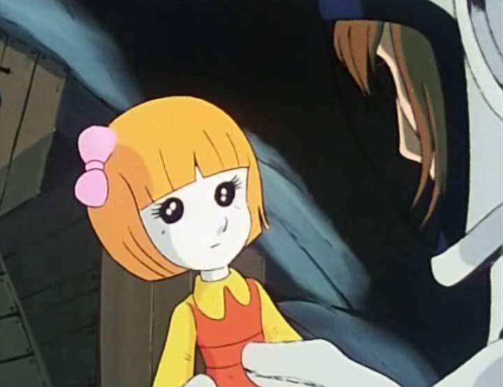 Albator 78 - Episode 05 : Albator prend une poupée piégée dans la cargaison du spaciocarg