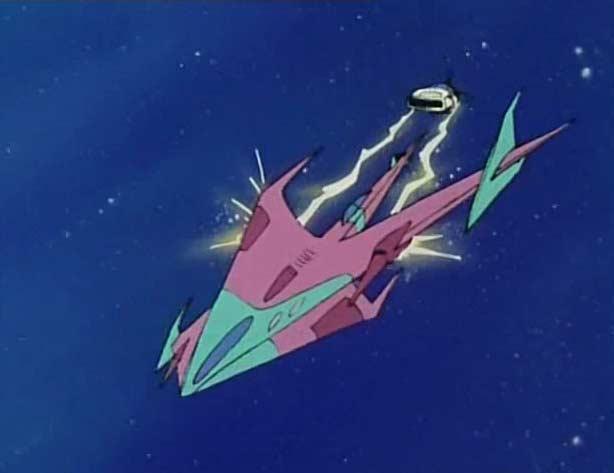 Ramis arrive à abattre le vaisseau Sylvidre