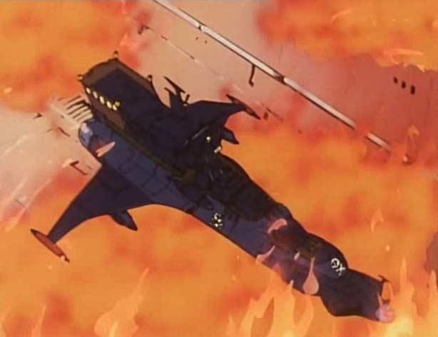 L'Atlantis est bloqué dans l'incendie car le sas refuse de s'ouvrir