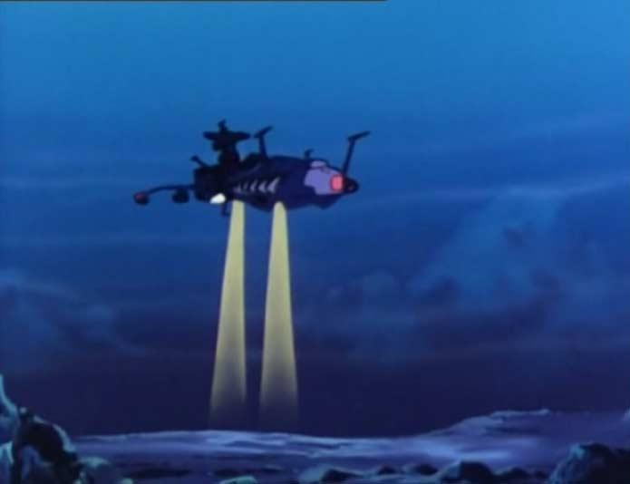 Malgré les projecteurs de l'Atlantis, il n'y a rien à voir au niveau de la source de la perturbation magnétique