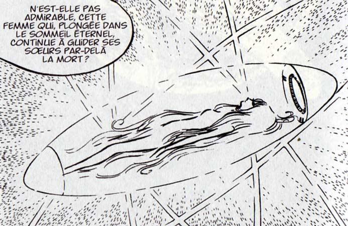 Dans le manga Ramis n'essaie pas de tuer la Sylvidre