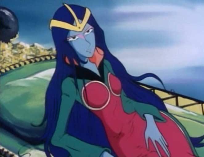 La Reine Sylvidra réalise qu'Albator est un adversaire plus coriace que ce qu'elle avait imaginé