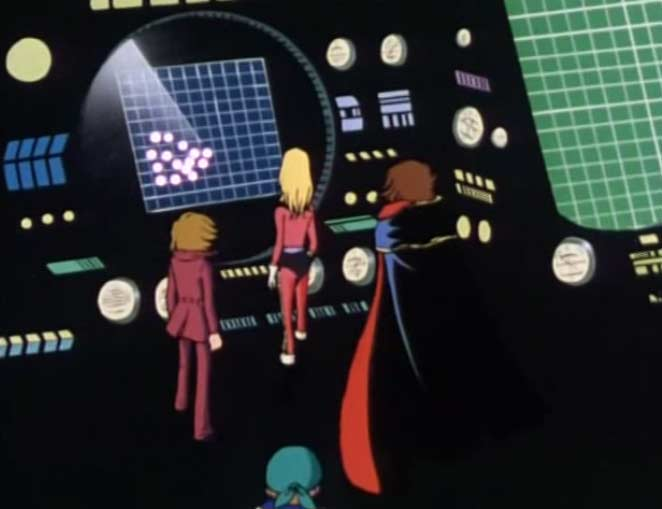 Nausica repère une flotte de vaisseaux sylvidres
