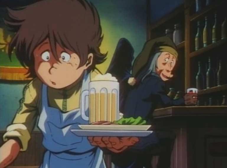 Hiroshi trouve un boulot de serveur dans un saloon