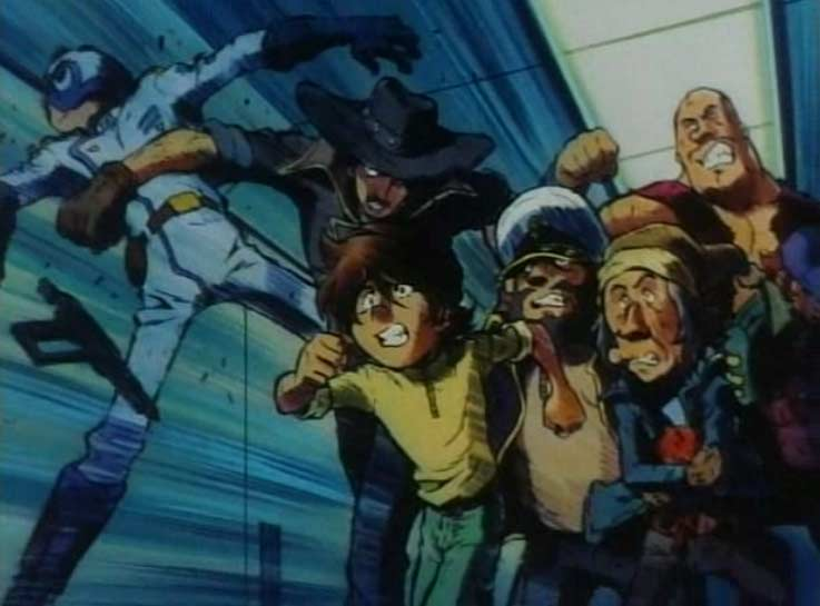 Hiroshi et ses compagnons s'évadent (Queen Emeraldas - Episode 2 : Emblème éternelle)
